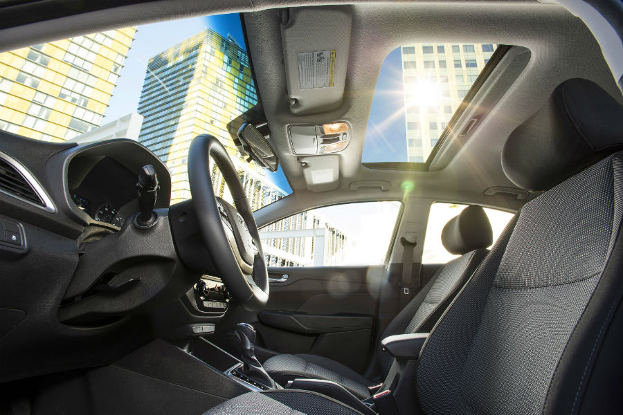 2020 Hyundai Accent Interior Cabin Front Seating