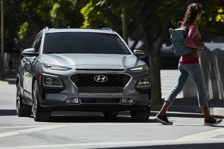 2020 Hyundai Kona Exterior Passenger Side Front Angle