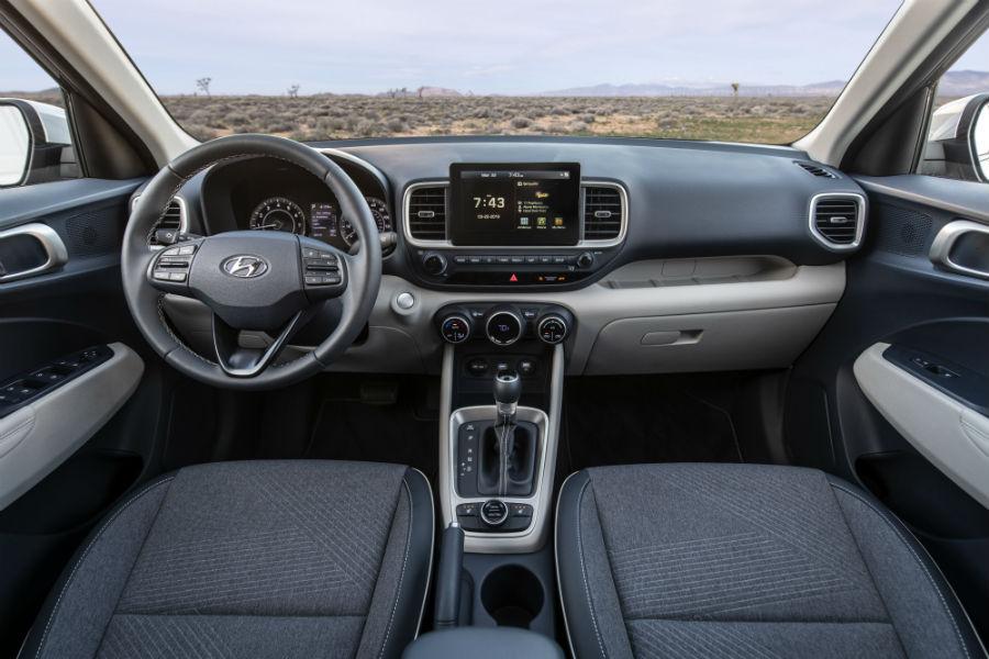 2020 Hyundai Venue Interior Cabin Dashboard