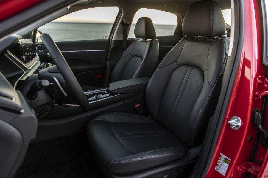 2020 Hyundai Sonata Hybrid Interior Cabin Front Seating_o