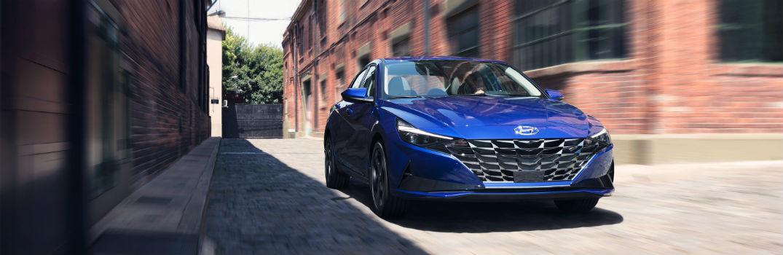 Pictures of the 2021 Hyundai Elantra