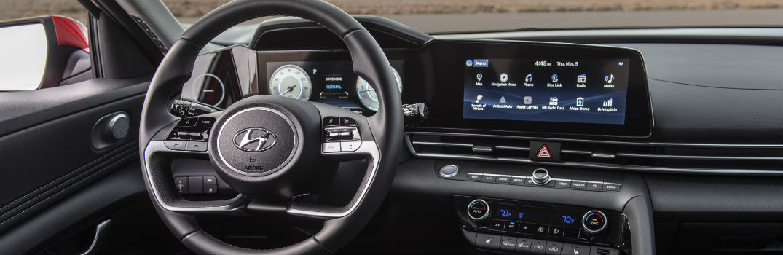 2021 Hyundai Elantra Interior Cabin Dashboard