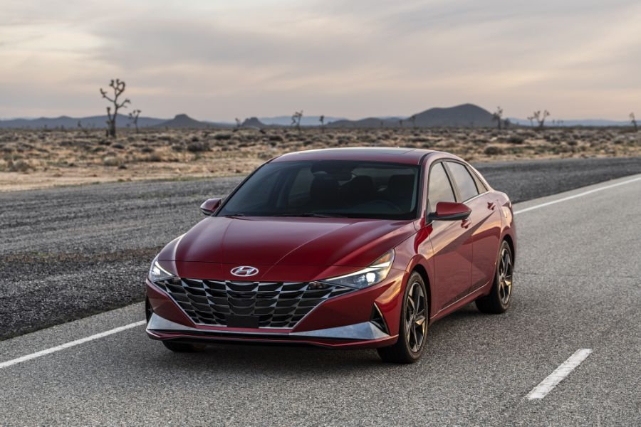 pictures of the 2021 hyundai elantra  cocoa hyundai