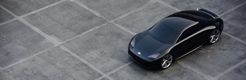 Hyundai Prophecy Concept EV Exterior Driver Side Front Aerial
