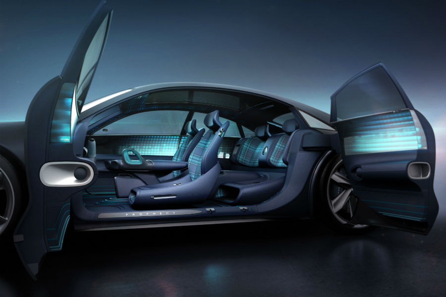 Hyundai Prophecy Concept EV Interior Cabin Seating