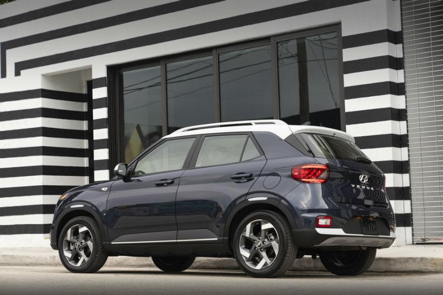 2020 Hyundai Venue Exterior Driver Side Rear Profile