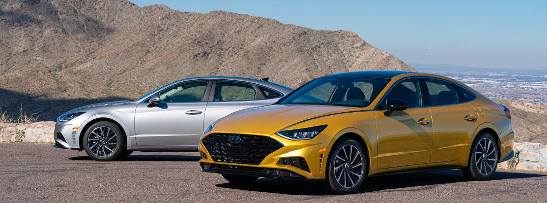 2020 Hyundai Sonata and Sonata Hybrid Safety Tech and Ratings