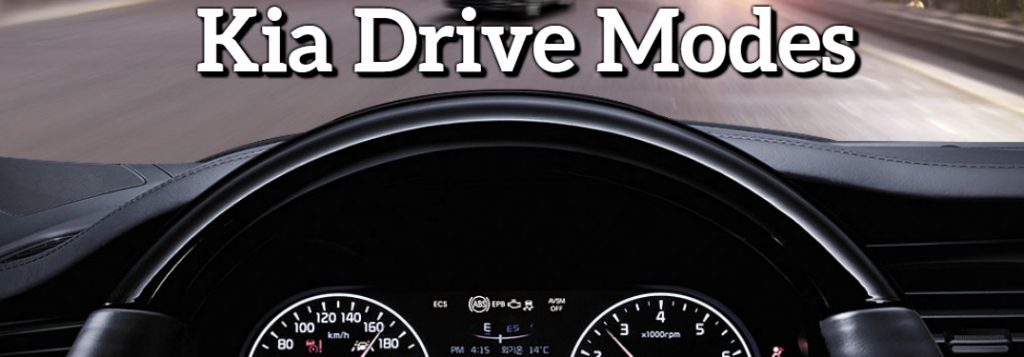 Kia Drive Modes Explained Here Paul Cerame Kia