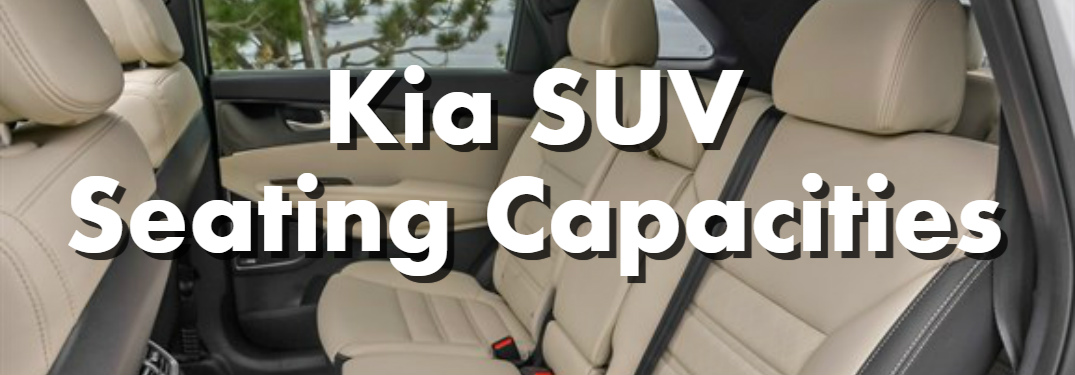 Families Of All Sizes Will Find A Kia SUV Model To Match Their Needs The Current Models And Seating Capacities Listed Below Help You