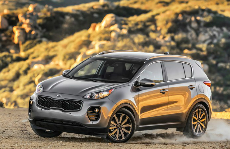2018 Kia Sportage In The Desert