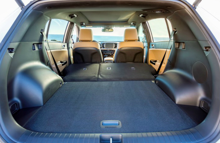 2018 kia sportage interior features and cargo space. Black Bedroom Furniture Sets. Home Design Ideas