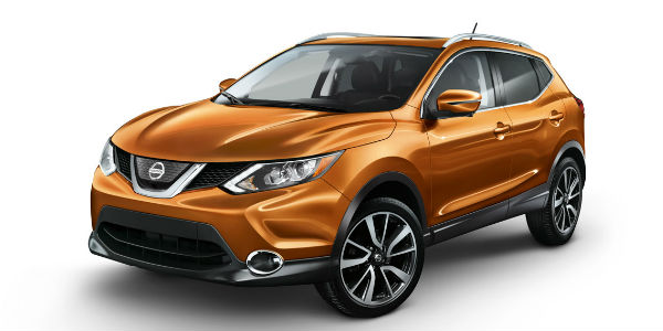 2017 Orange Nissan Rogue Sport