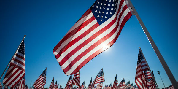 Field of USA Flags - 2017 Memorial Day Weekend Events and Festivals El Paso TX