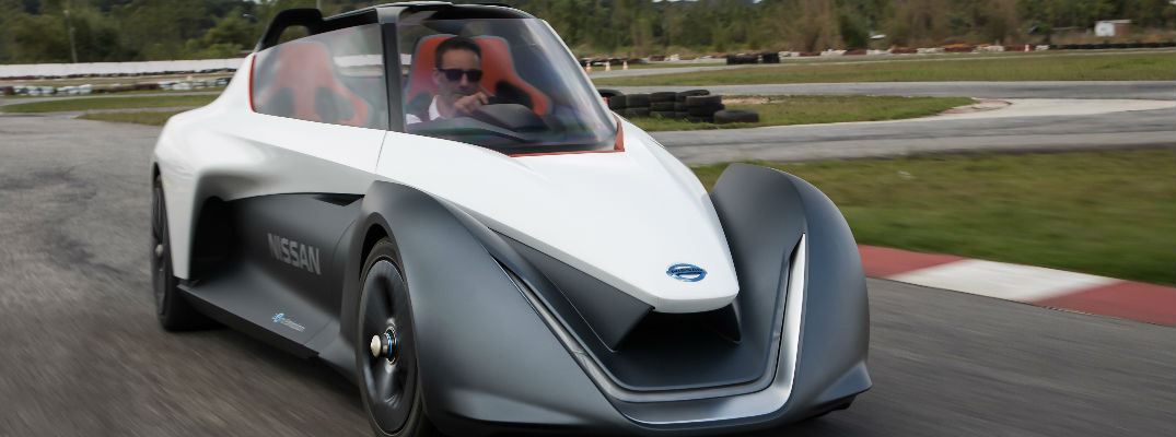 Nissan BladeGilder What is the Nissan BladeGlider concept sports car?