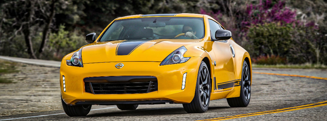 Yellow Exterior Front View - 2018 Nissan 37OZ Coupe, NISMO, and Roadster Trim Levels