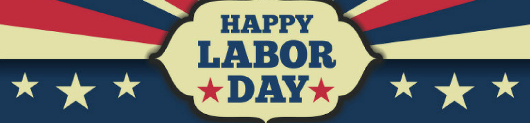 Patriotic Labor Day Banner