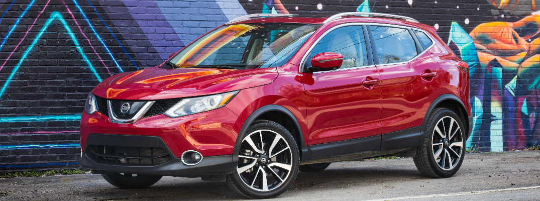 2018 Nissan Rogue Sport Front View of Red Exterior