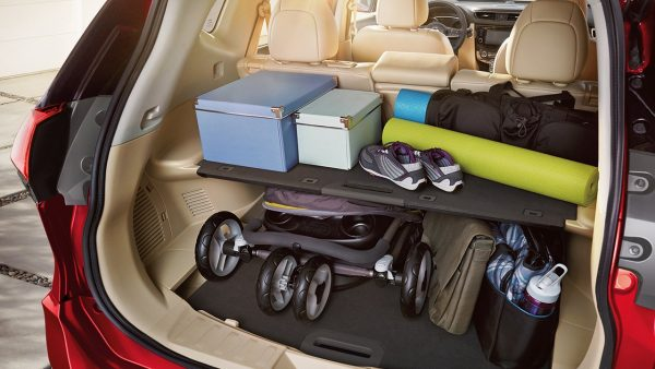 2018 Nissan Rogue Multi Layered Trunk Configuration Large O