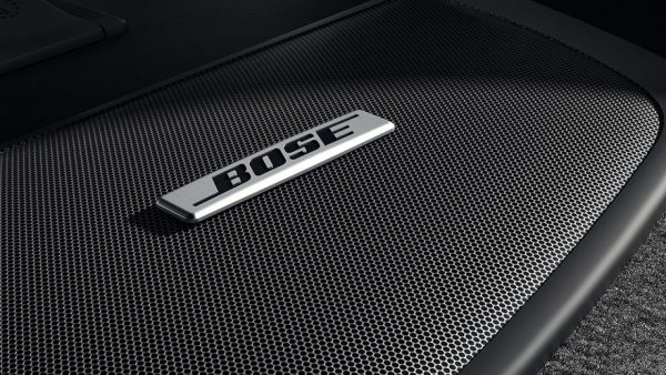 Closeup look at the Bose Speakers in the 2018 Nissan Sentra
