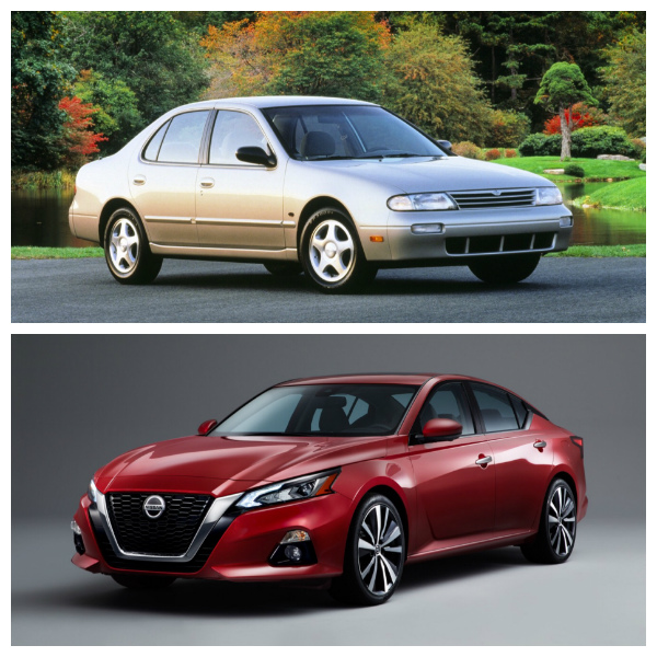 History Of The Nissan Altima Through 6 Generations B O Charlie