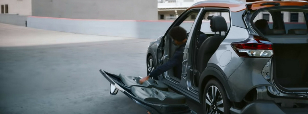Screenshot from 2018 Nissan Kicks commercial