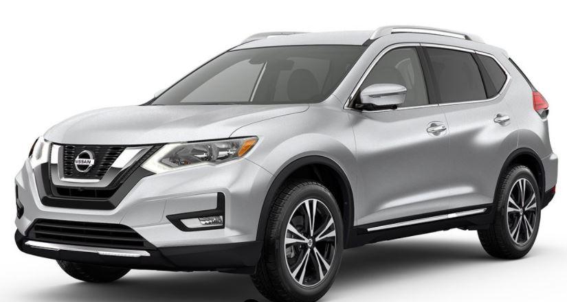 2018 Nissan Rogue Brilliant Silver