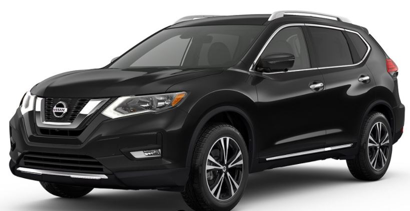 2018 Nissan Rogue Magnetic Black