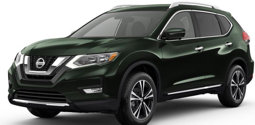 What are the 2018 Nissan Rogue exterior paint color options