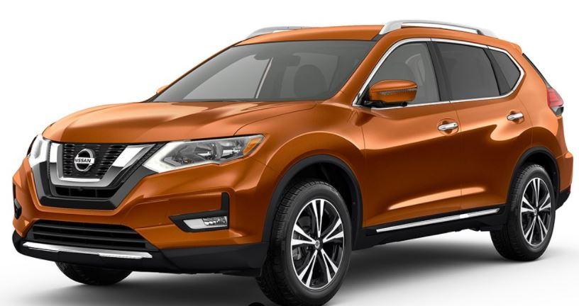 2018 Nissan Rogue Monarch Orange