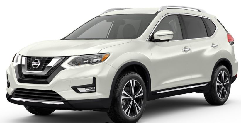 2018 Nissan Rogue Pearl White