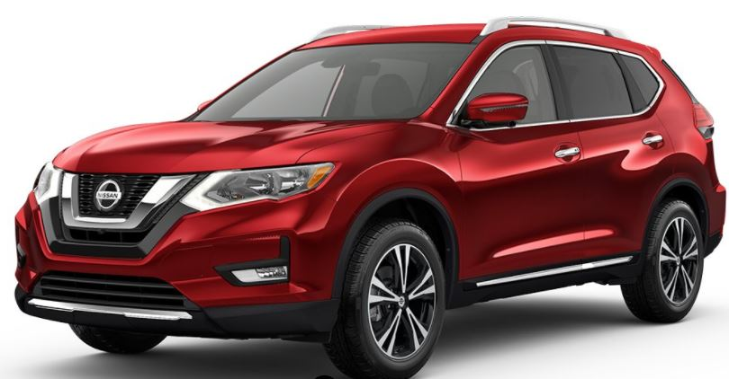2018 Nissan Rogue Scarlet Ember