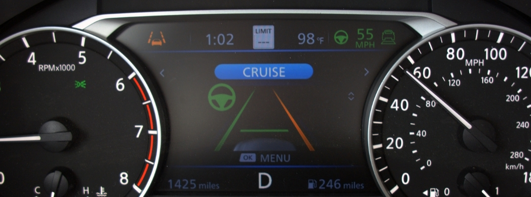 Lane Departure Warning display