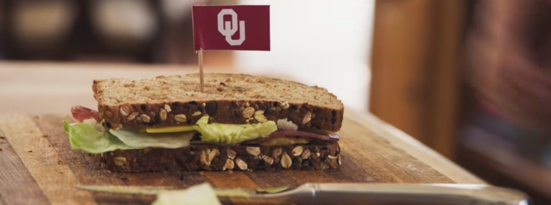 Screenshot from Nissan Heisman House 'Sandwich' Commercial