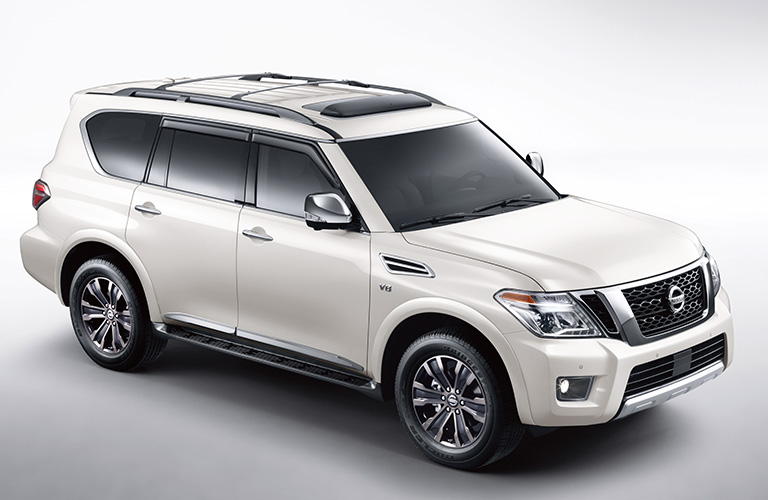 2019 Nissan Armada in White Paint Color
