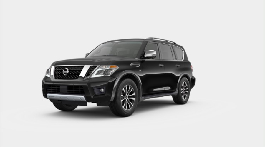 2019 Nissan Armada Super Black