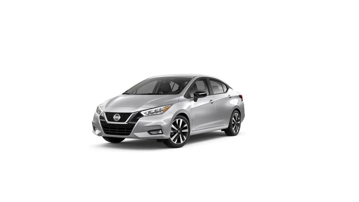 Brilliant Silver Metallic 2019 Nissan Versa