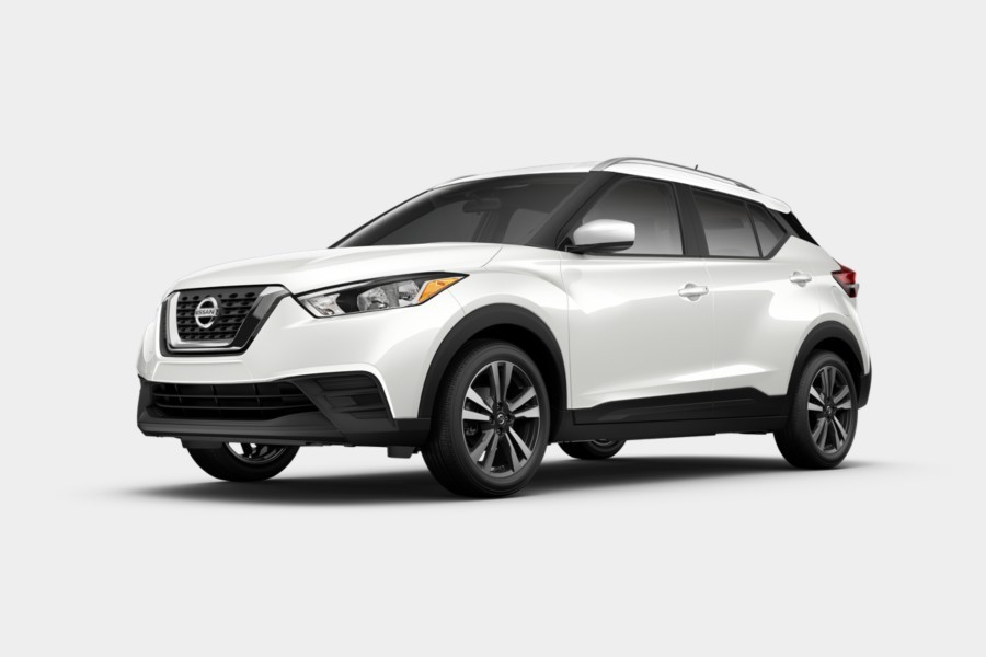 2020 Nissan Kicks in Aspen White Tricoat