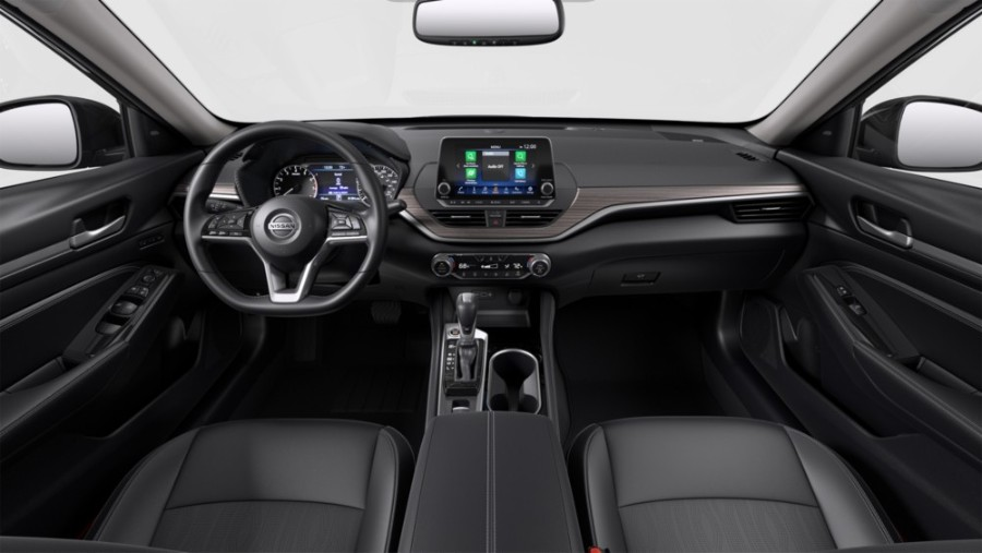 Charcoal Leather coloring in the 2020 Nissan Altima