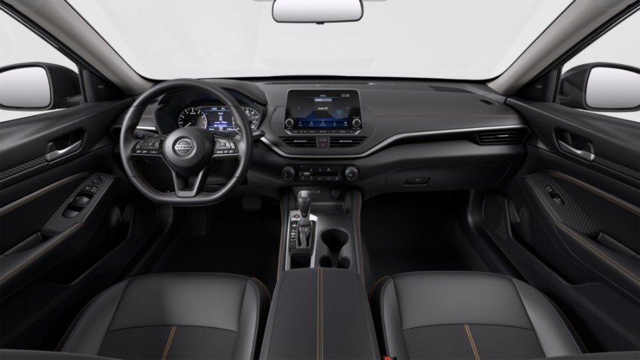 Charcoal Sport Cloth interior in the 2020 Nissan Altima