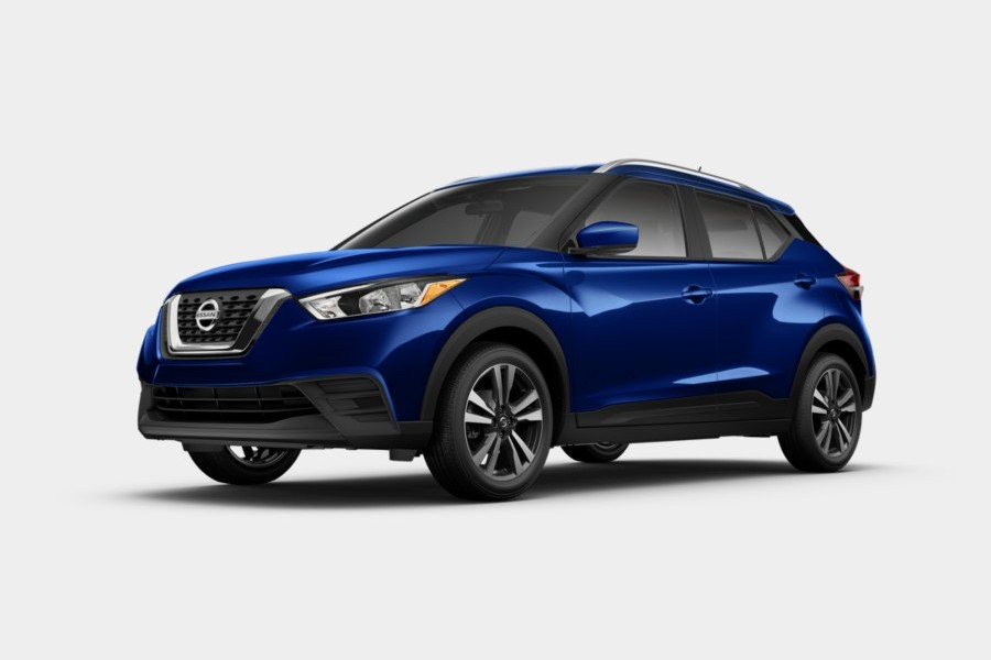 2020 Nissan Kicks in Deep Pearl Blue color
