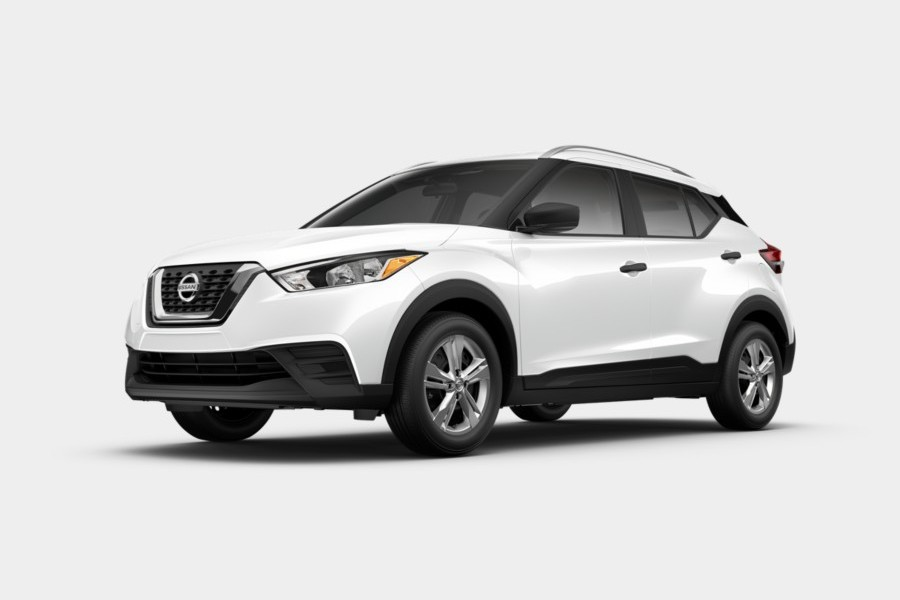 2020 Nissan Kicks in Fresh Powder color