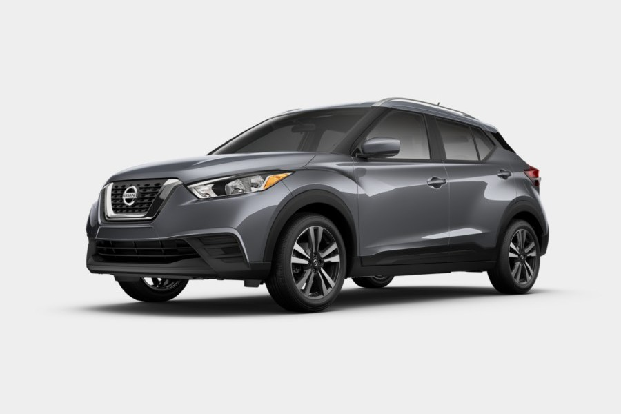 2020 Nissan Kicks in Gun Metallic color
