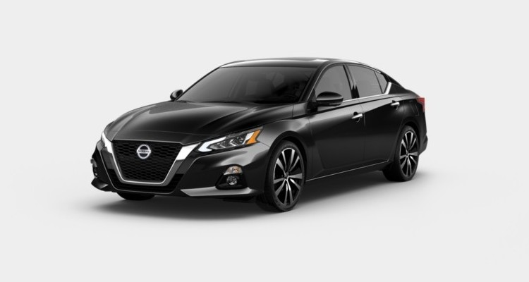 2020 Nissan Altima in Super Black color