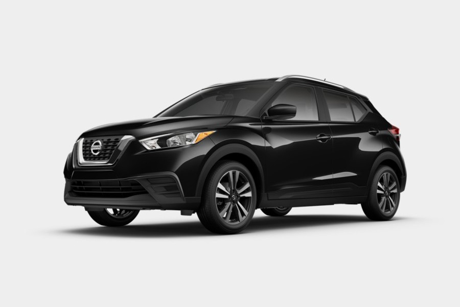 2020 Nissan Kicks in Super Black color