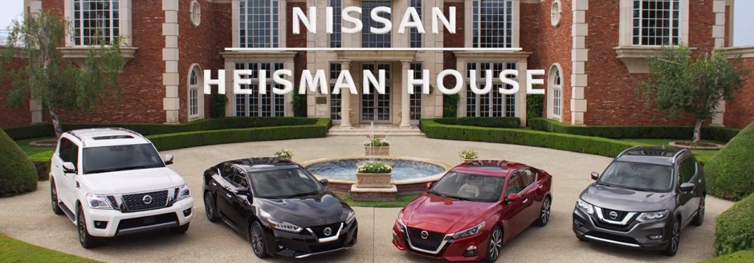 nissan heisman house with nissan vehicles