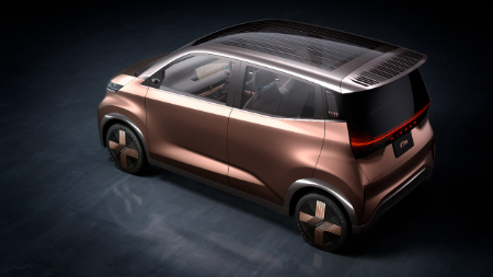 overhead view of nissan imk concept