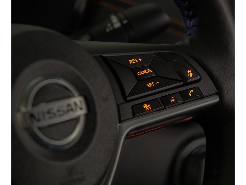 2020 nissan sentra steering wheel buttons