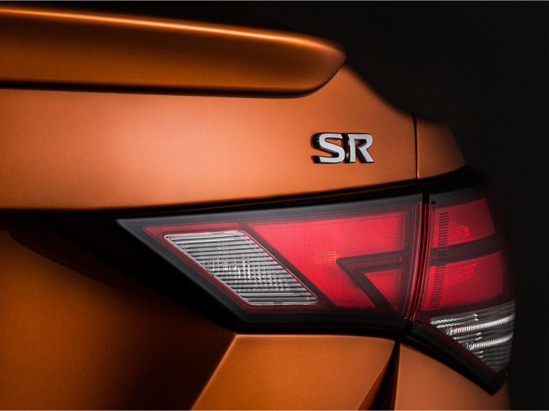 2020 nissan sentra taillight design