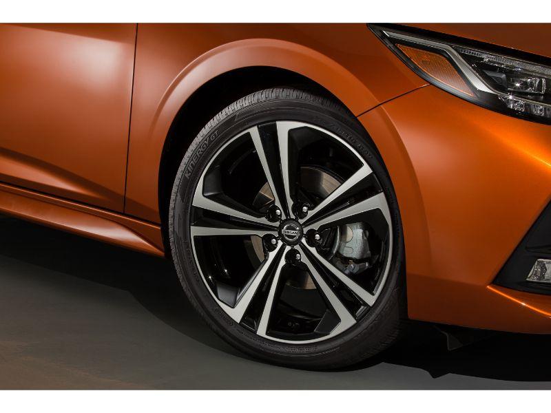 2020 nissan sentra wheel design