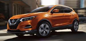 2020 Nissan Rogue Sport from exterior front drivers side
